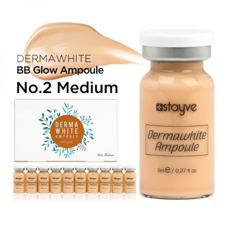 Stayve-Dermawhite-BB-Glow-Ampulle-Nr. 2-Medium-10 x 8 ml